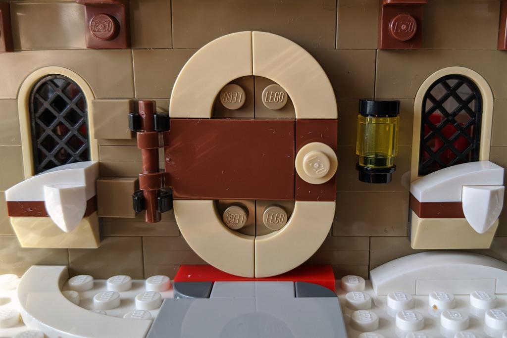 LEGO 18+ 10275 Elfen-Klubhaus Eingangstür