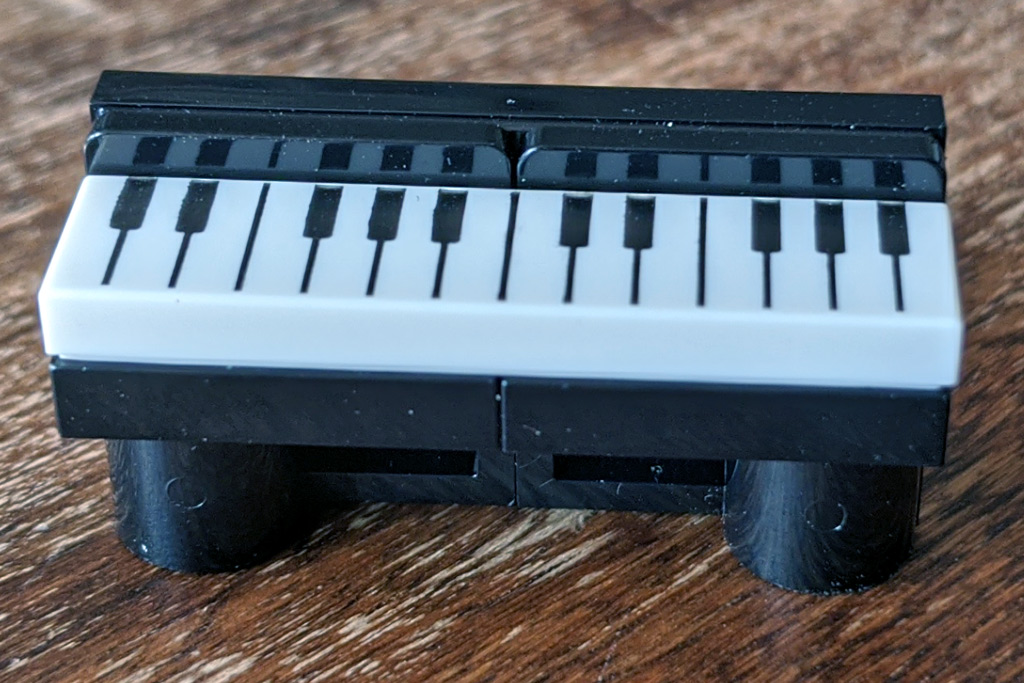 LEGO 18+ 10275 Elfen-Klubhaus Keyboard