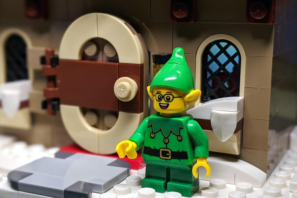 LEGO 18+ 10275 Elfen-Klubhaus Eingang