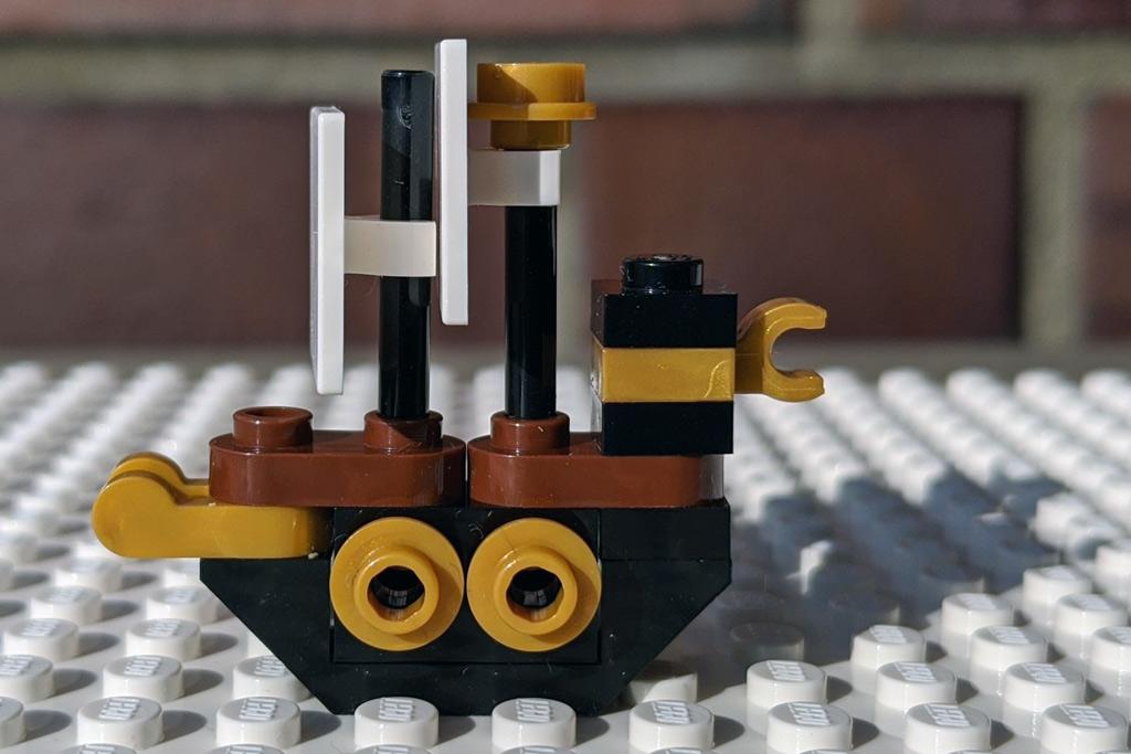 LEGO 18+ 10275 Elfen-Klubhaus Piratenschiff