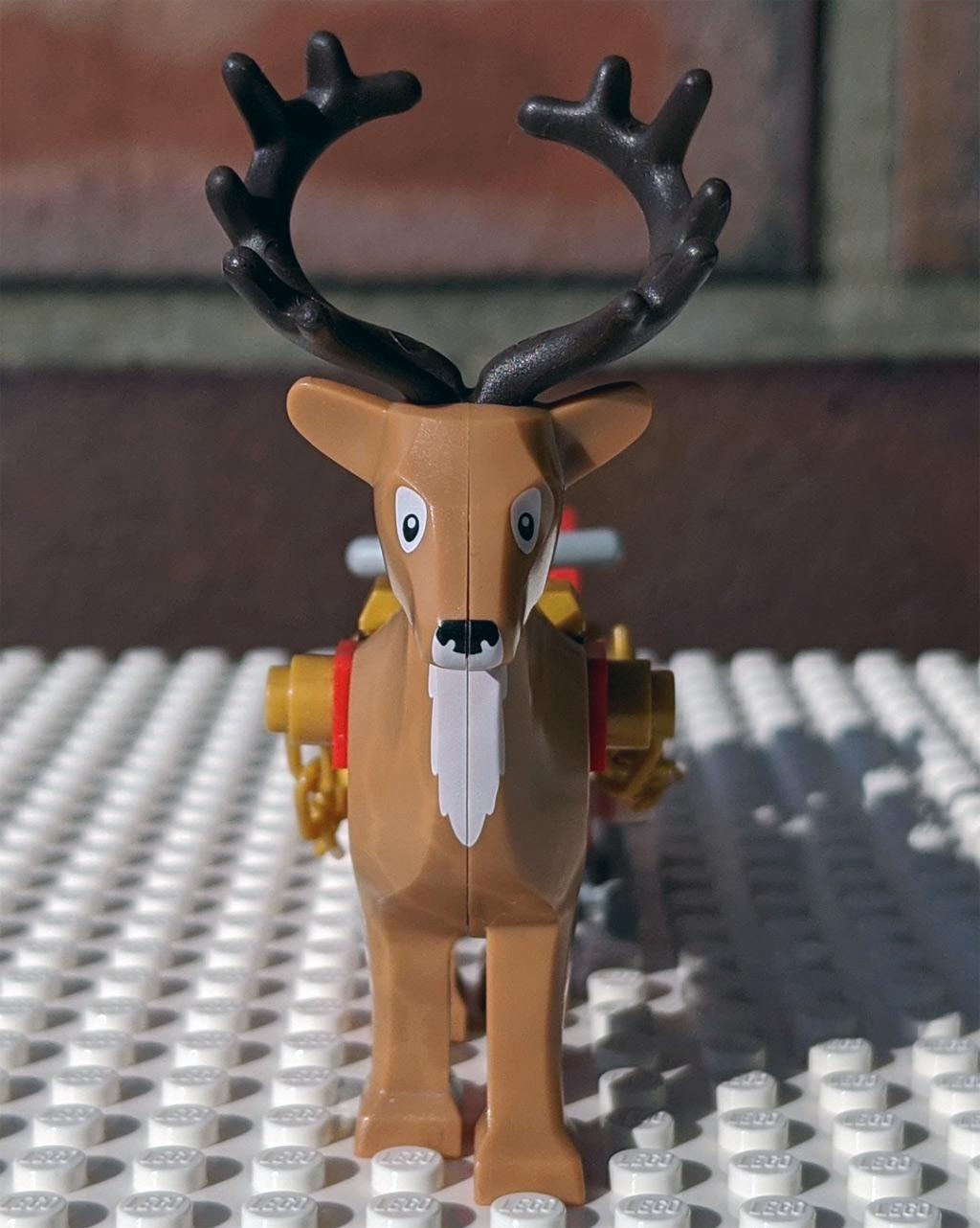LEGO 18+ 10275 Elfen-Klubhaus Rentier