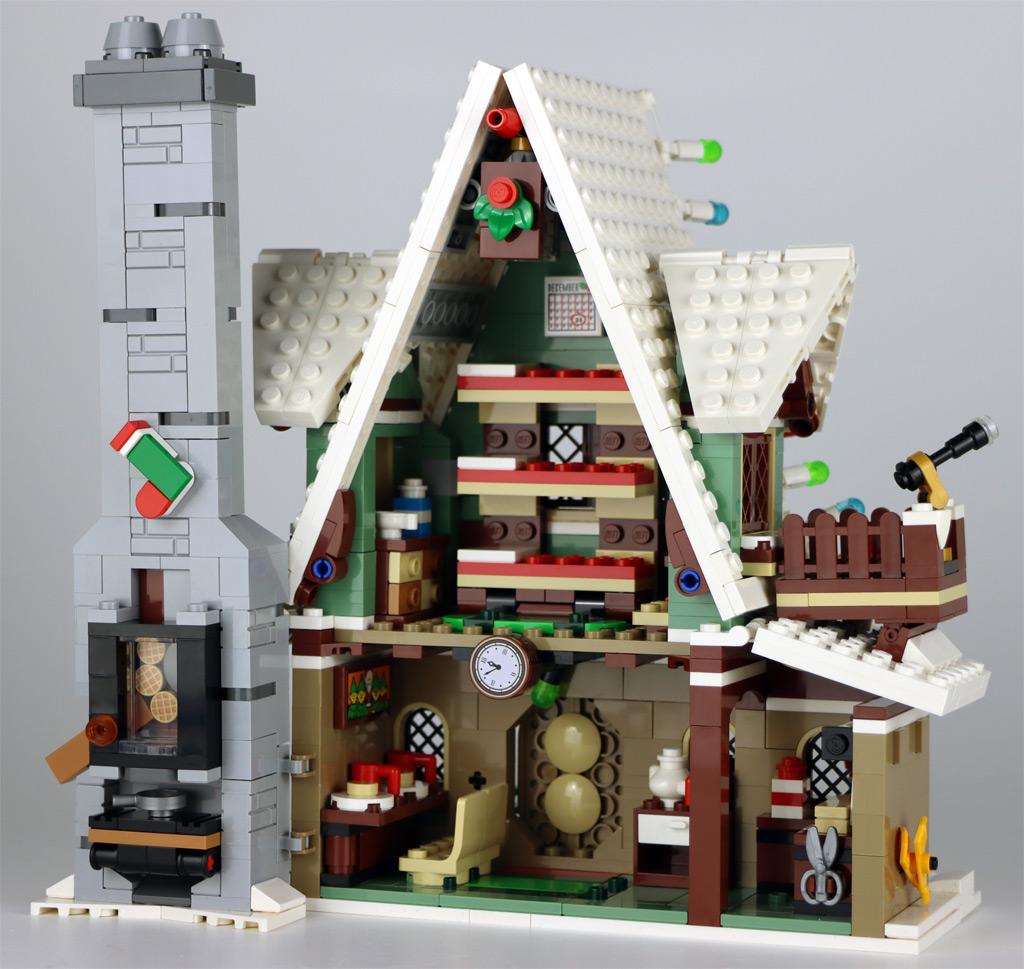 LEGO 18+ 10275 Elfen-Klubhaus Rückseite