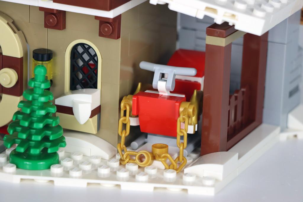 LEGO 18+ 10275 Elfen-Klubhaus Schlitten