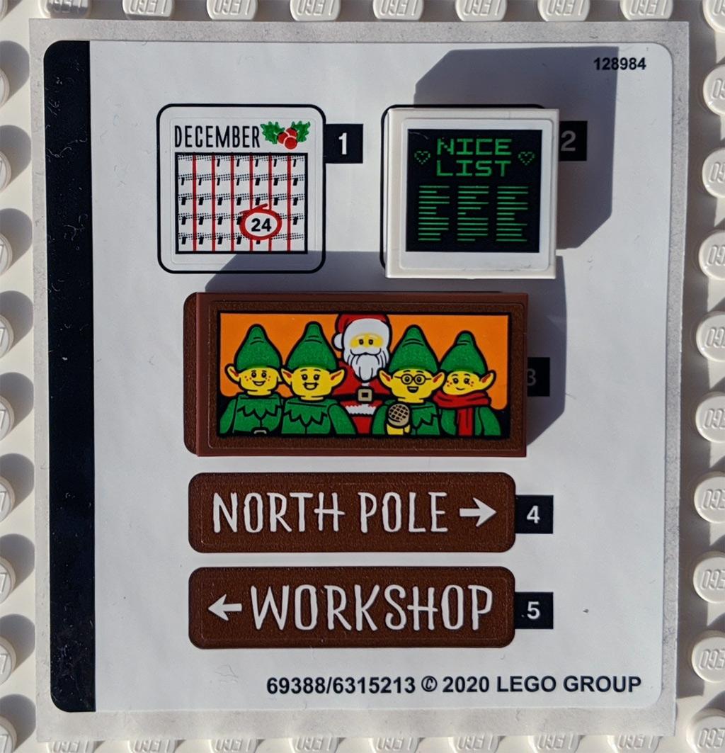 LEGO 18+ 10275 Elfen-Klubhaus Aufkleber