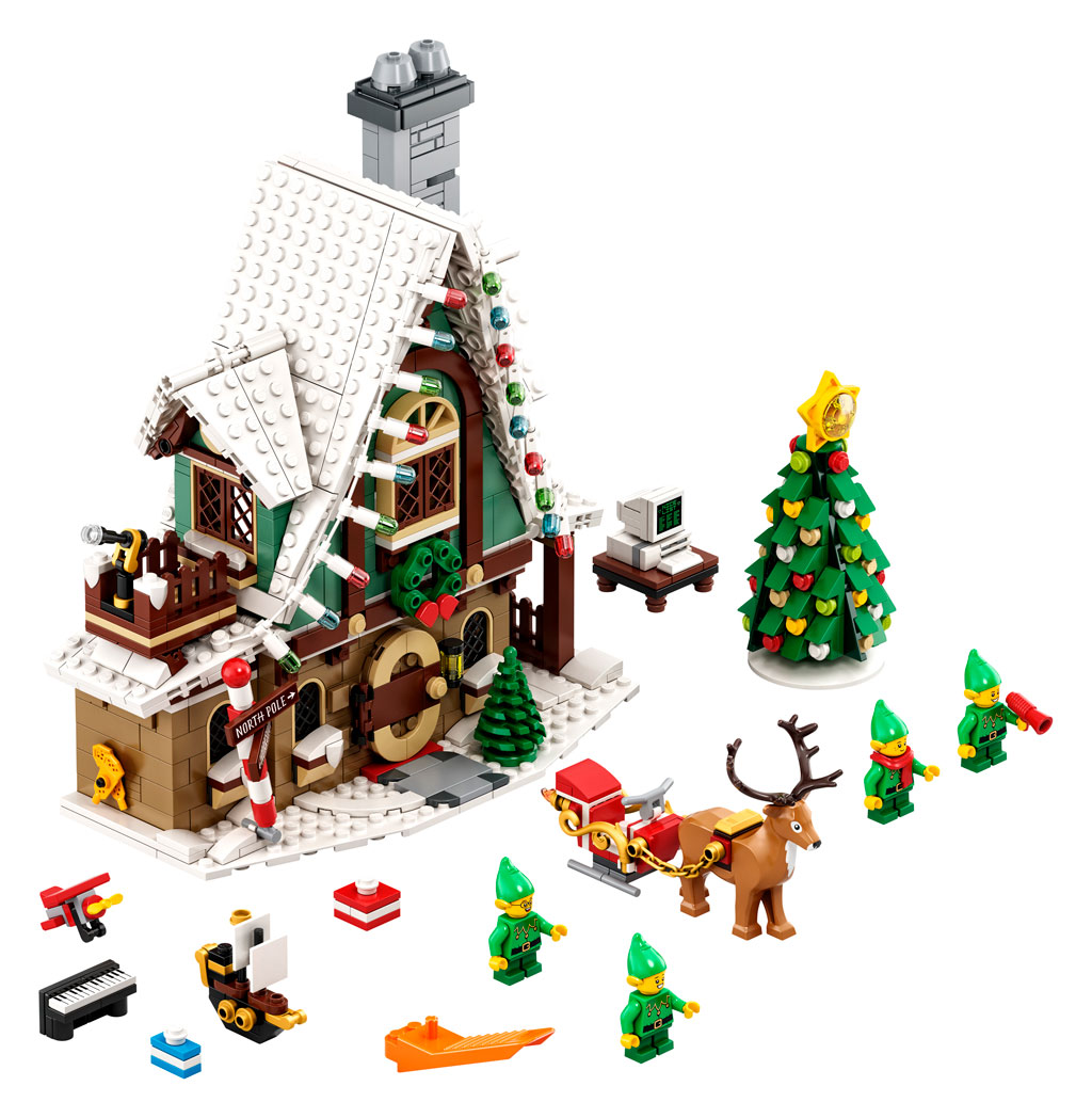 LEGO 18+ Winter Village 10275 Elfen-Klubhaus Inhalt