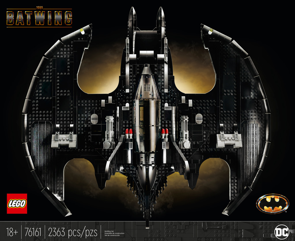 LEGO Batman 76161 1989 Batwing Karton Release 2020