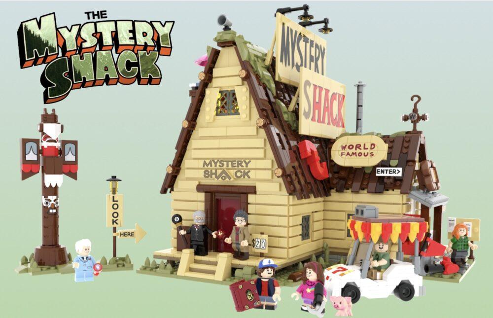 LEGO Ideas Gravity Falls: The Mystery Shack