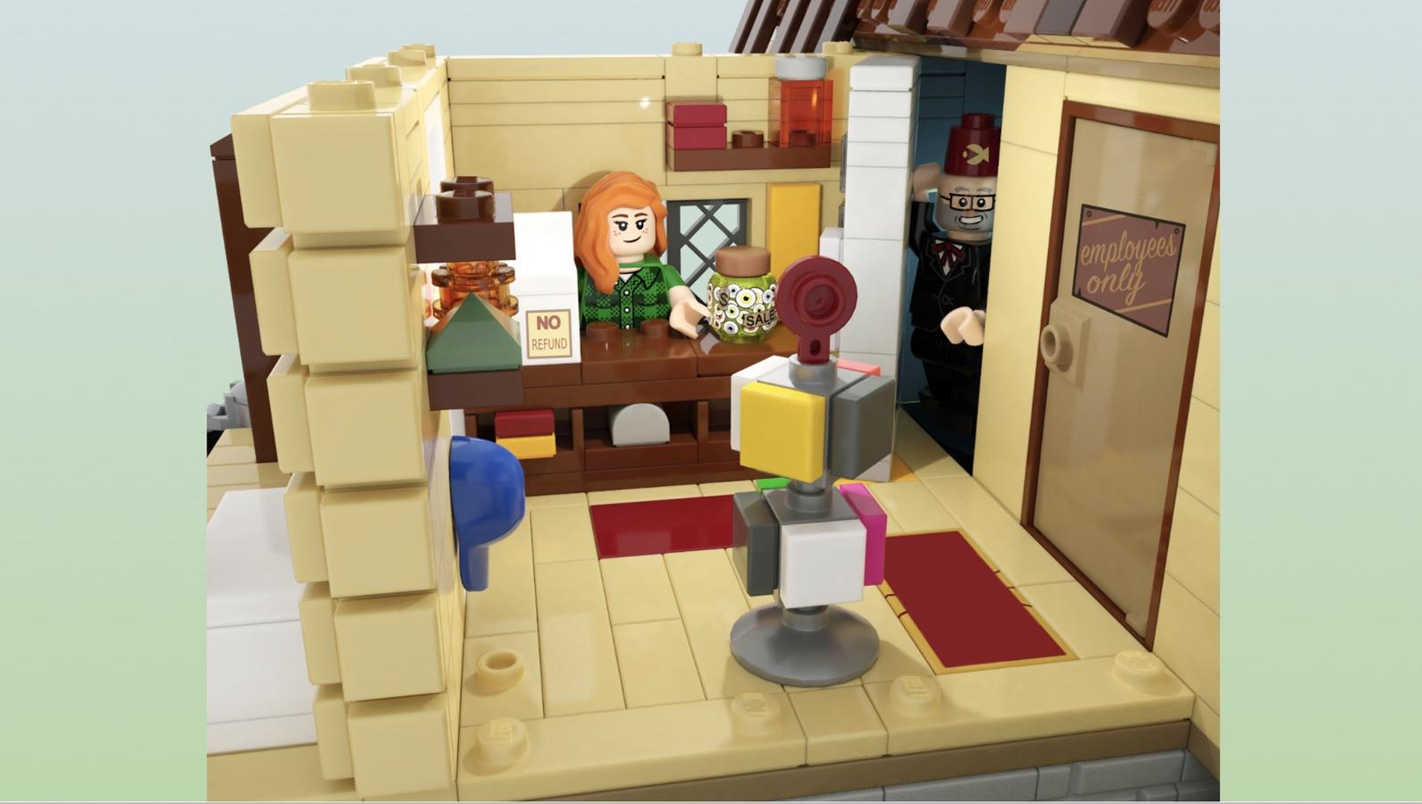 LEGO Ideas Gravity Falls: The Mystery Shack Zimmer