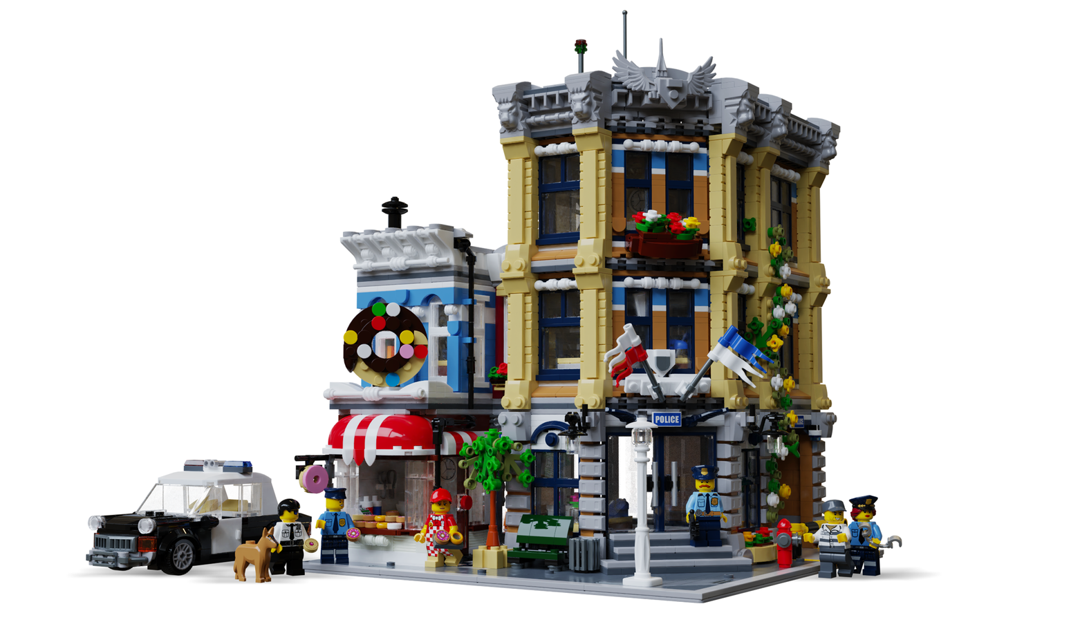 LEGO Ideas Brick Town Police Station