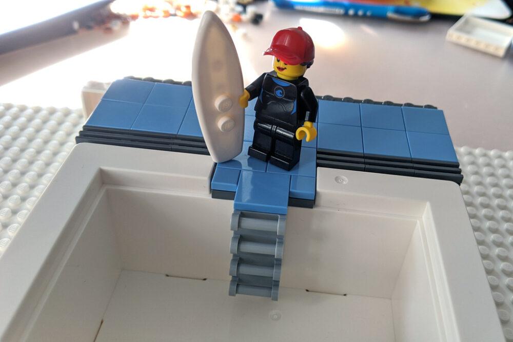 LEGO IKEA BYGGLEK Box Schwimmbad