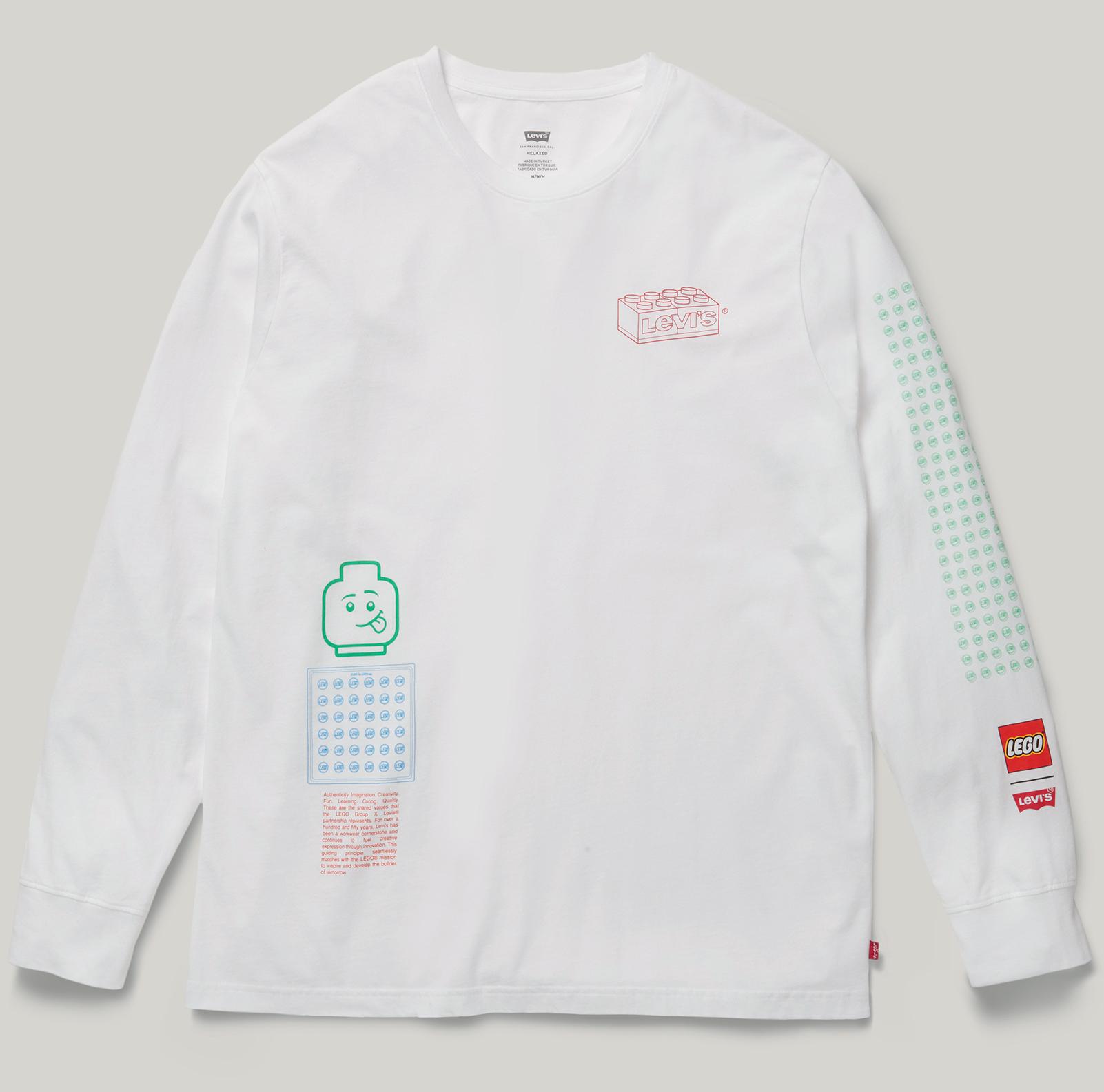 lego-levis-collab-2020-sweatshirt-weiss zusammengebaut.com