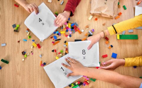 LEGO Papiertüten statt Plastiktüten in LEGO Sets
