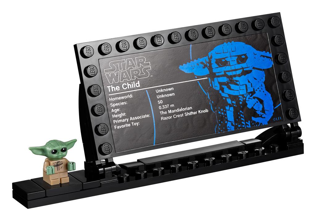 LEGO Star Wars 75318 The Child Aufsteller Minifigur
