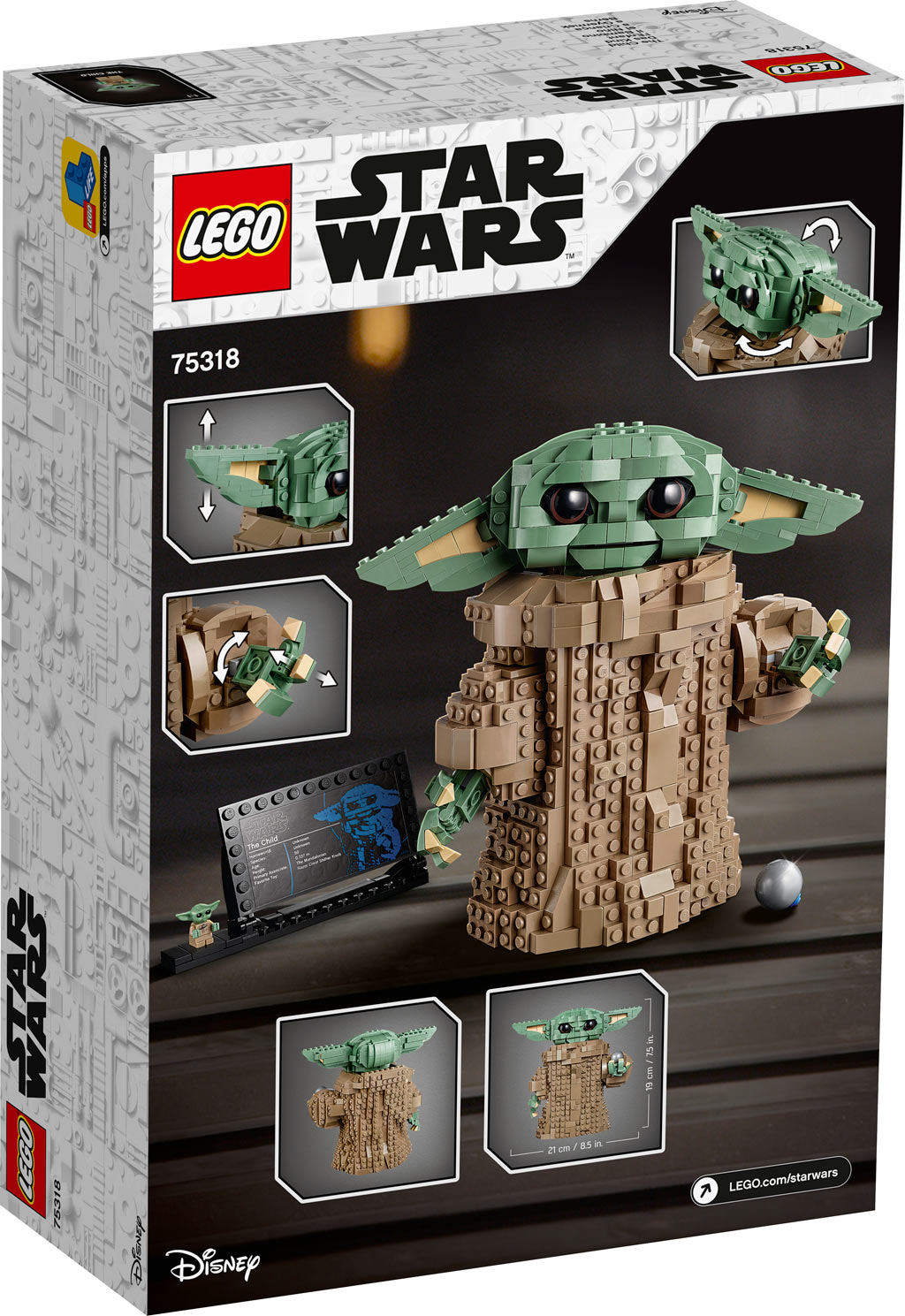 LEGO Star Wars 75318 The Child Box