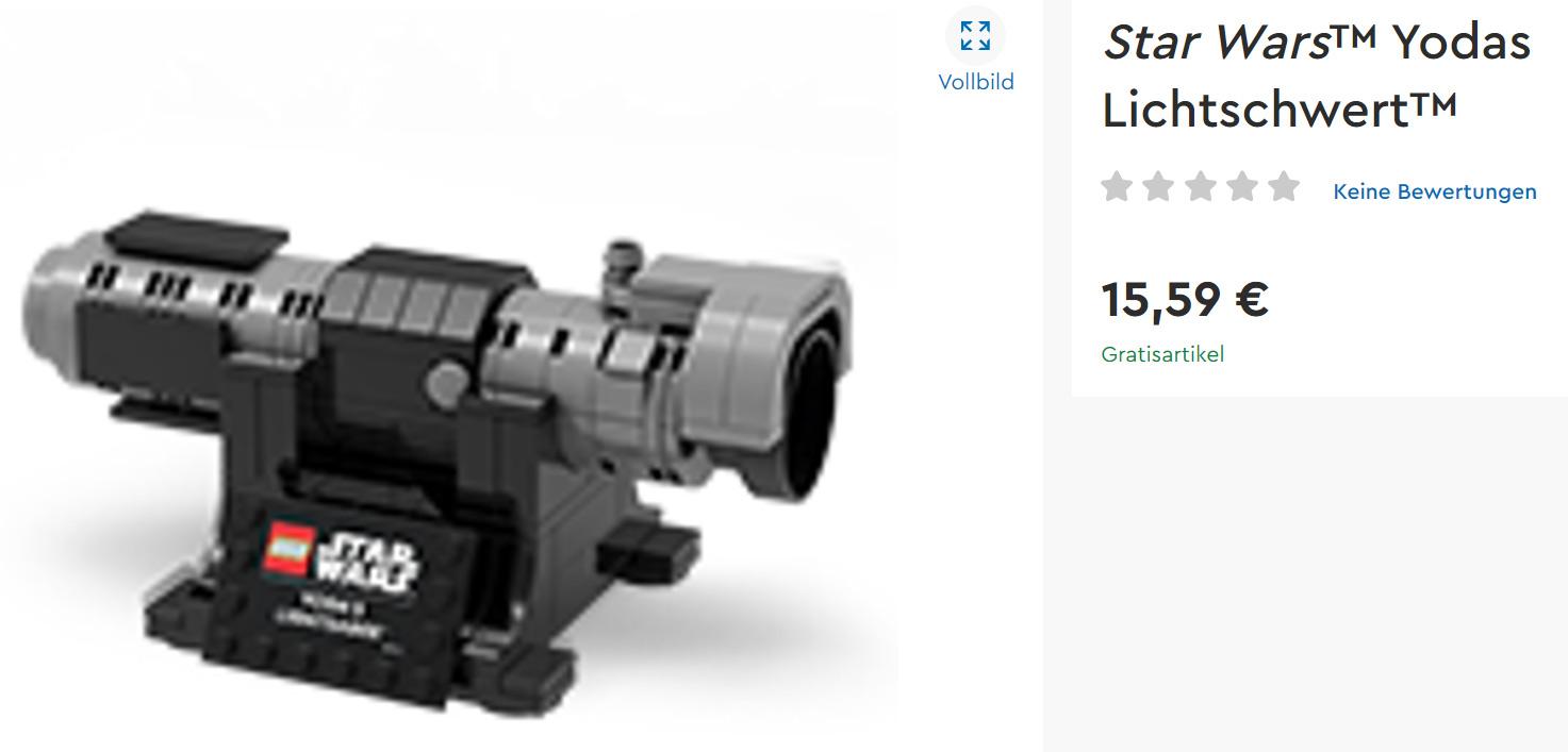 LEGO Star Wars Yodas Lichtschwert Online Shop 5006290