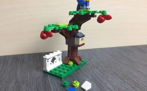 40400 Apfelbaum zusammengebaut