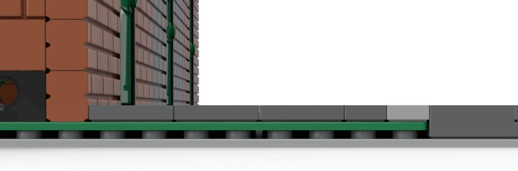 Zwei Grundplatten übereinander gestapelt