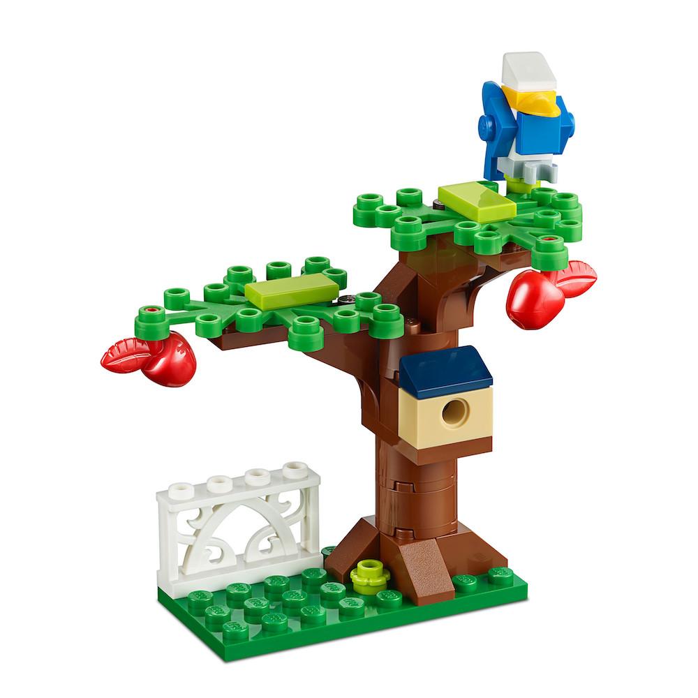 LEGO Apfelbaum mit Vogelhaus und Vogel