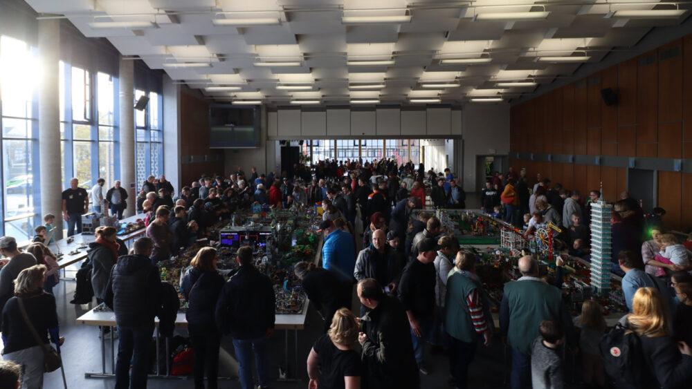 Zusammengebaut 2019 LEGO Ausstellung in Borken: Saal