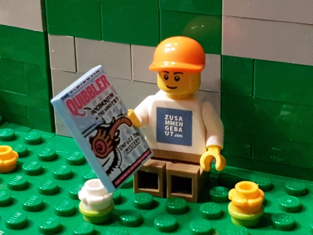 Zusammengebaut LEGO Minifigur