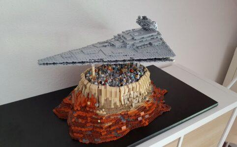 LEGO Star Wars MOC The Empire over Jedha City von onecase