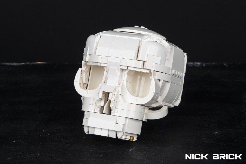 LEGO Skull by Nick Brick