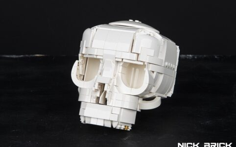 LEGO Skull by Nick Brick