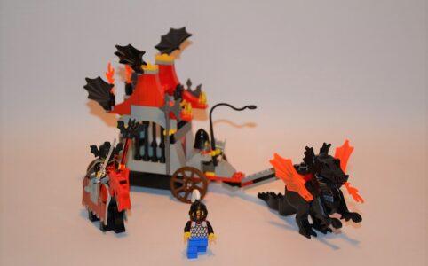 LEGO Fright Knights 6047/6099 Kutsche der bitterbösen Buben