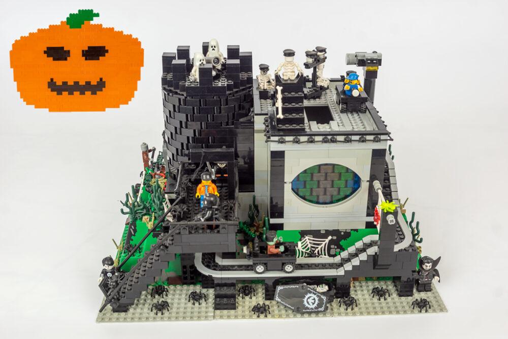 Halloween LEGO Geisterbahn