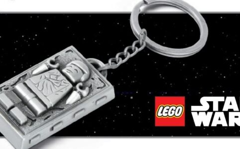 LEGO Star Wars 5006363 Han Solo in Carbonite Keychain