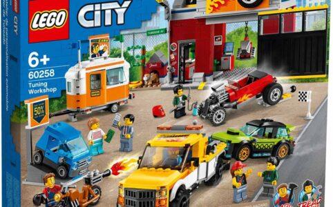 LEGO City 60258 Tuning-Werkstatt
