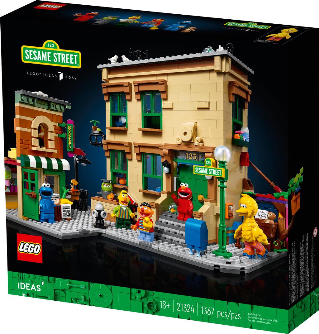 LEGO Ideas 21324 123 Sesamstraße