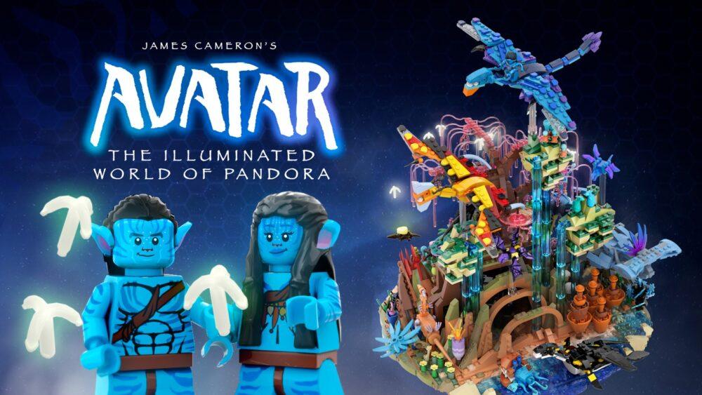 Avatar: The Illuminated World of Pandora bulldoozer