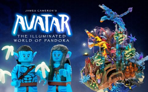 Avatar: The Illuminated World of Pandora bulldoozer