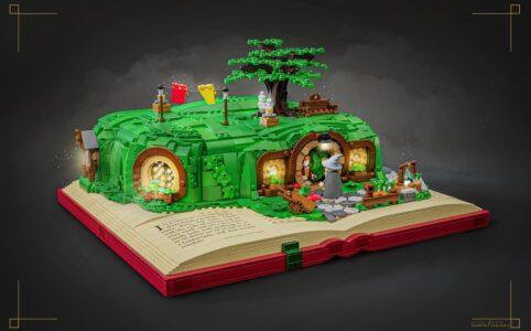 LEGO Ideas Hobbit Bag End