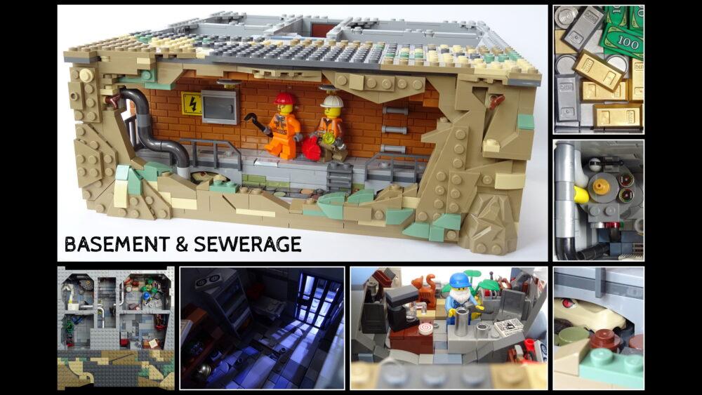 LEGO Ideas Basement & Sewerage