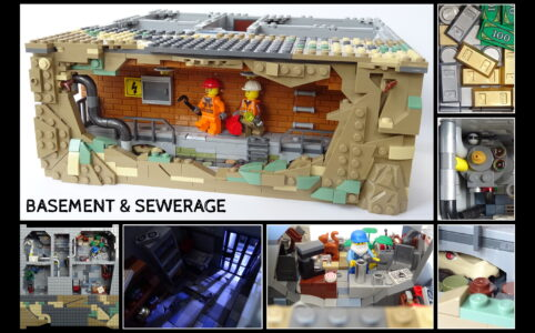 LEGO Ideas Basement & Sewerage