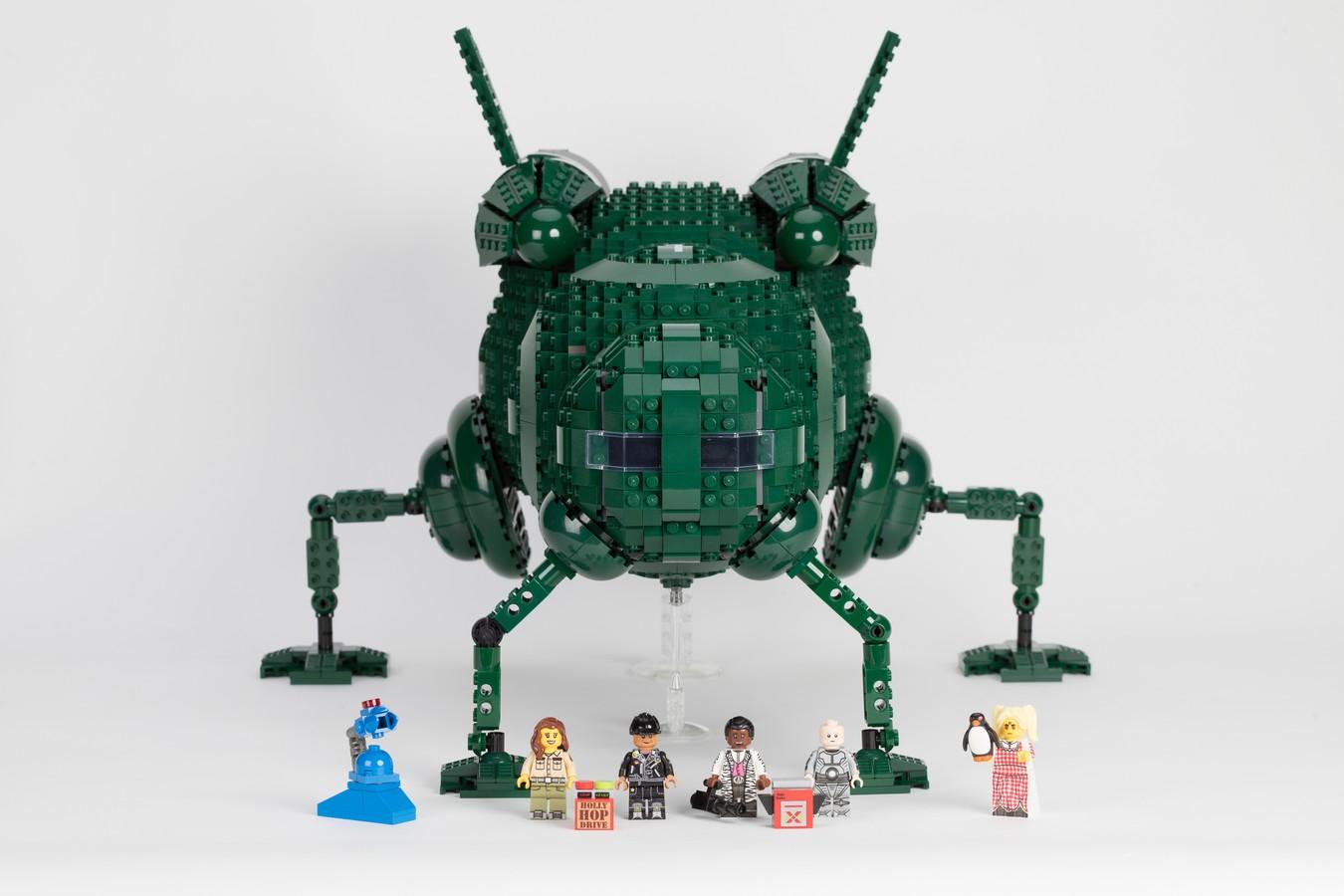 Red Dwarf Starbug LEGO Idea Bobs Vintage Minifiguren