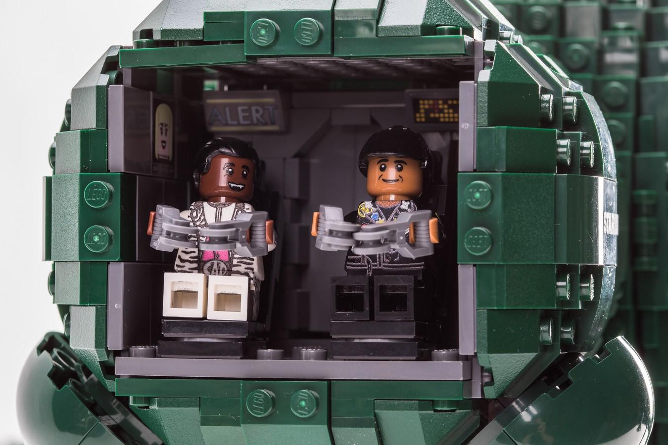 Red Dwarf Starbug LEGO Idea Bobs Vintage Cockpit