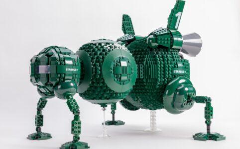 Red Dwarf Starbug LEGO Idea Bobs Vintage
