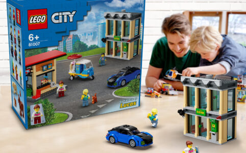 LEGO Lab City Set erstellen