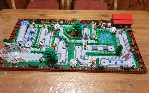 LEGO Minigolf-Anlage