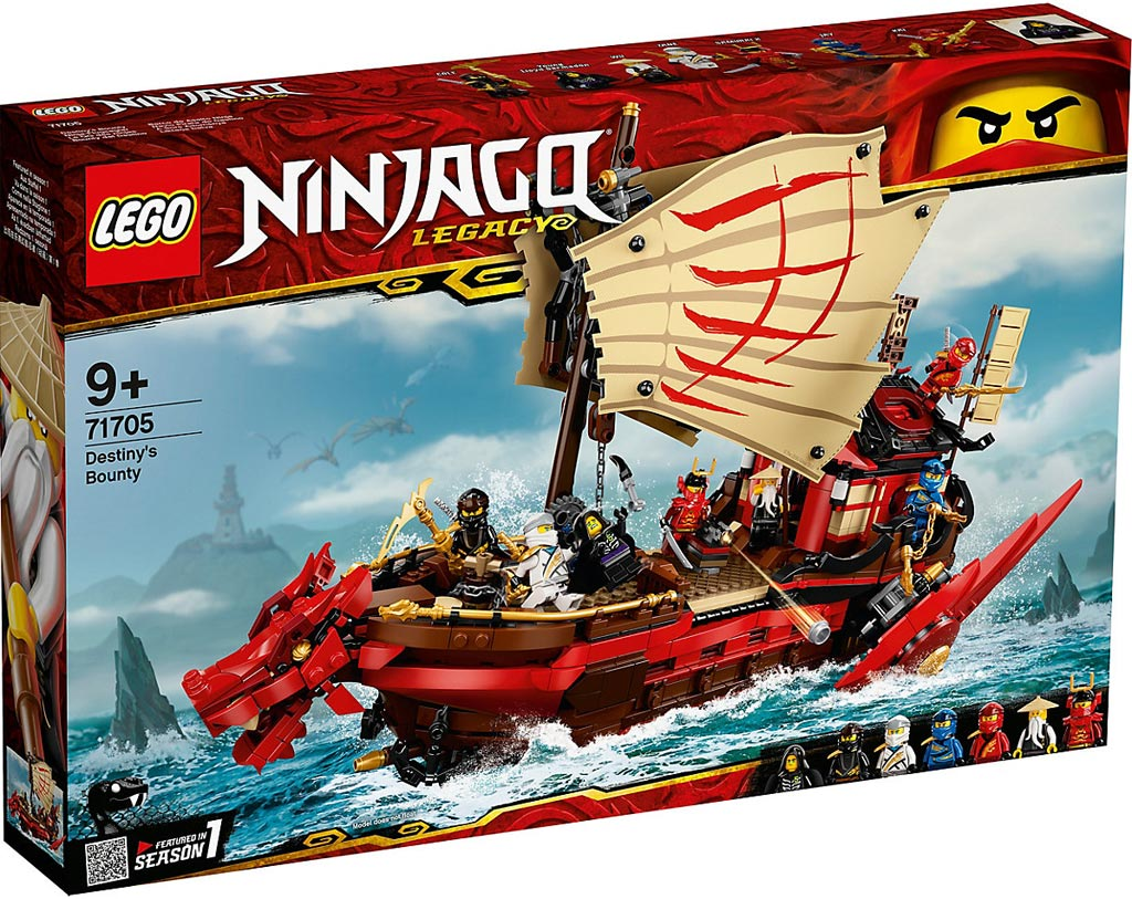 LEGO Ninjago 71705 Ninja-Flugsegler