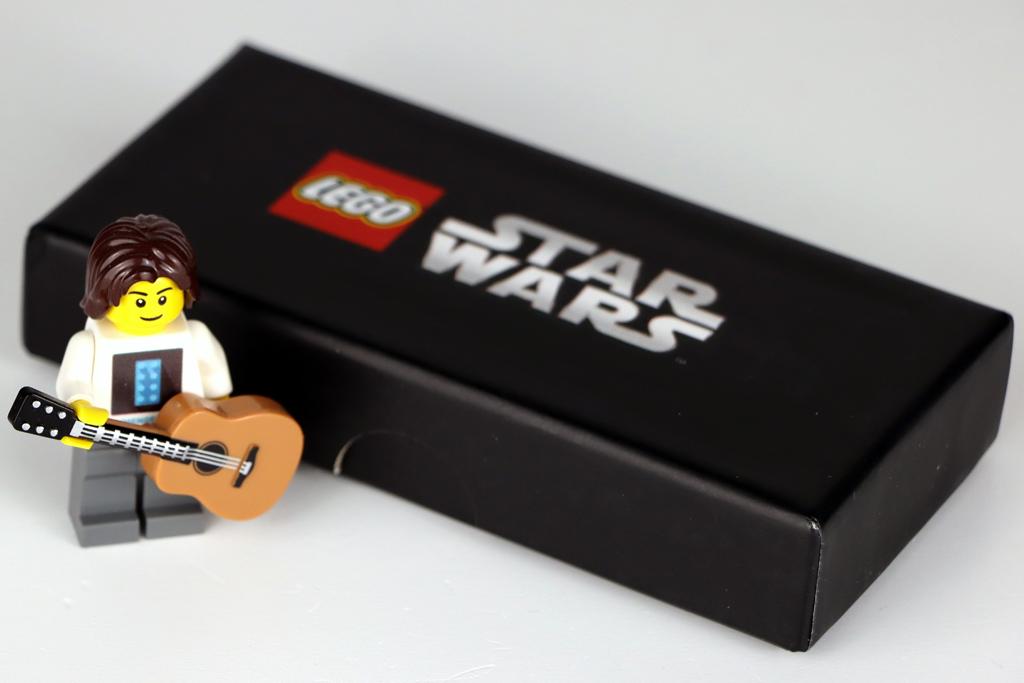 LEGO Star Wars Metallschlüsselanhänger 5006363 Han Solo Box