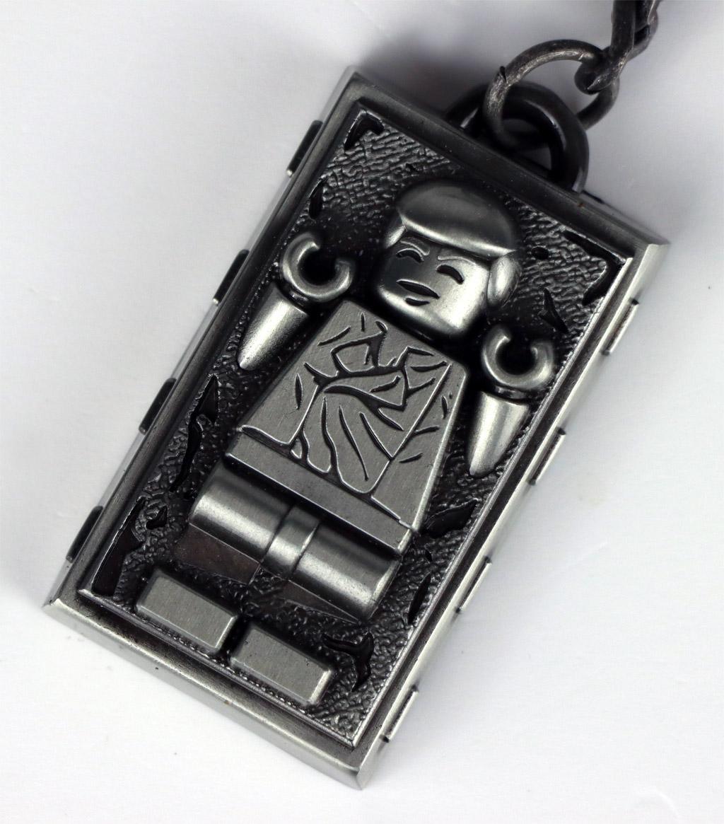 LEGO Star Wars Metallschlüsselanhänger 5006363 Han Solo
