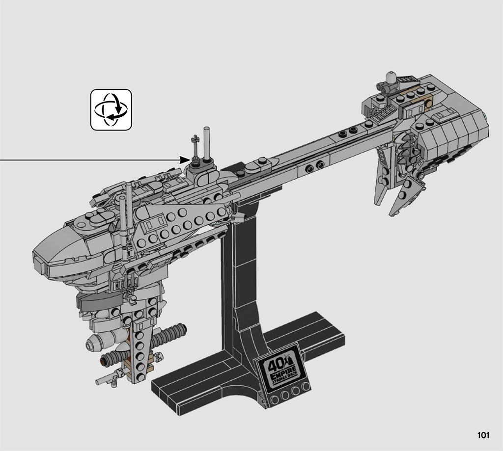 LEGO Star Wars 77904 Nebulon-B Frigate Bauanleitung