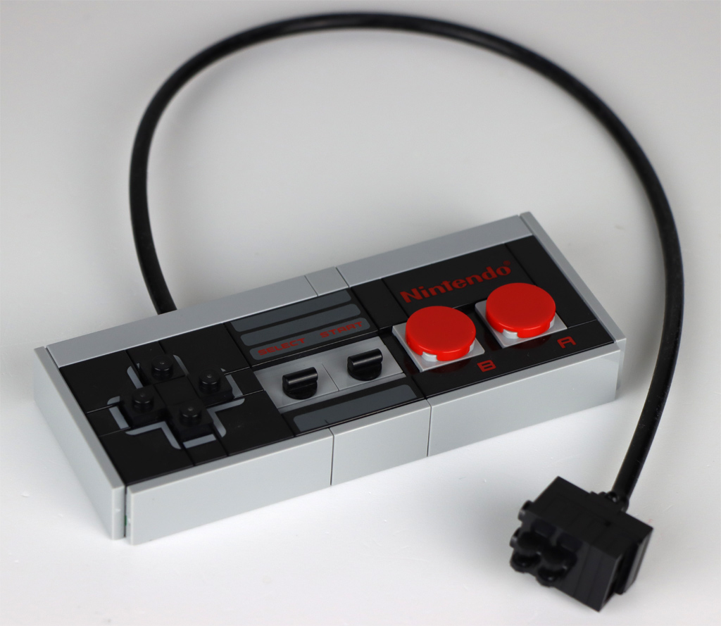 LEGO Super Mario 71374 Nintendo Entertainment System Controller