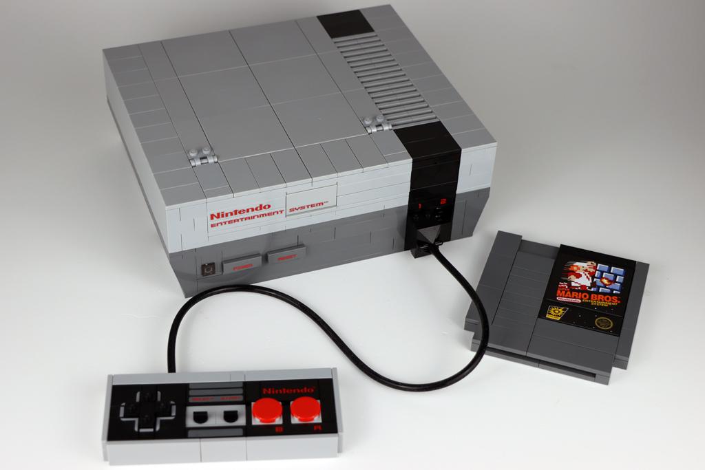 LEGO Super Mario 71374 Nintendo Entertainment System ohne Fernseher
