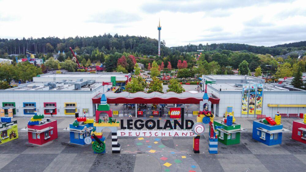LEGOLAND Deutschland Eingangsbereich