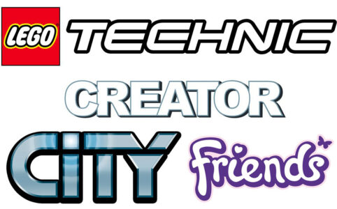 LEGO Technic, Creator, City und Friends Logo